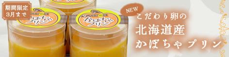 【期間限定】こだわり卵の北海道産かぼちゃプリン