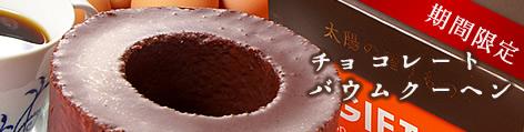 冬だけ限定!チョコレートバウム