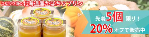 北海道産かぼちゃプリン