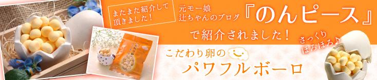 元モー娘辻ちゃんのブログ『のんピース』で紹介されました